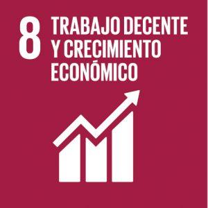ODS 8 Trabajo decente y crecimiento económico HIWOOK